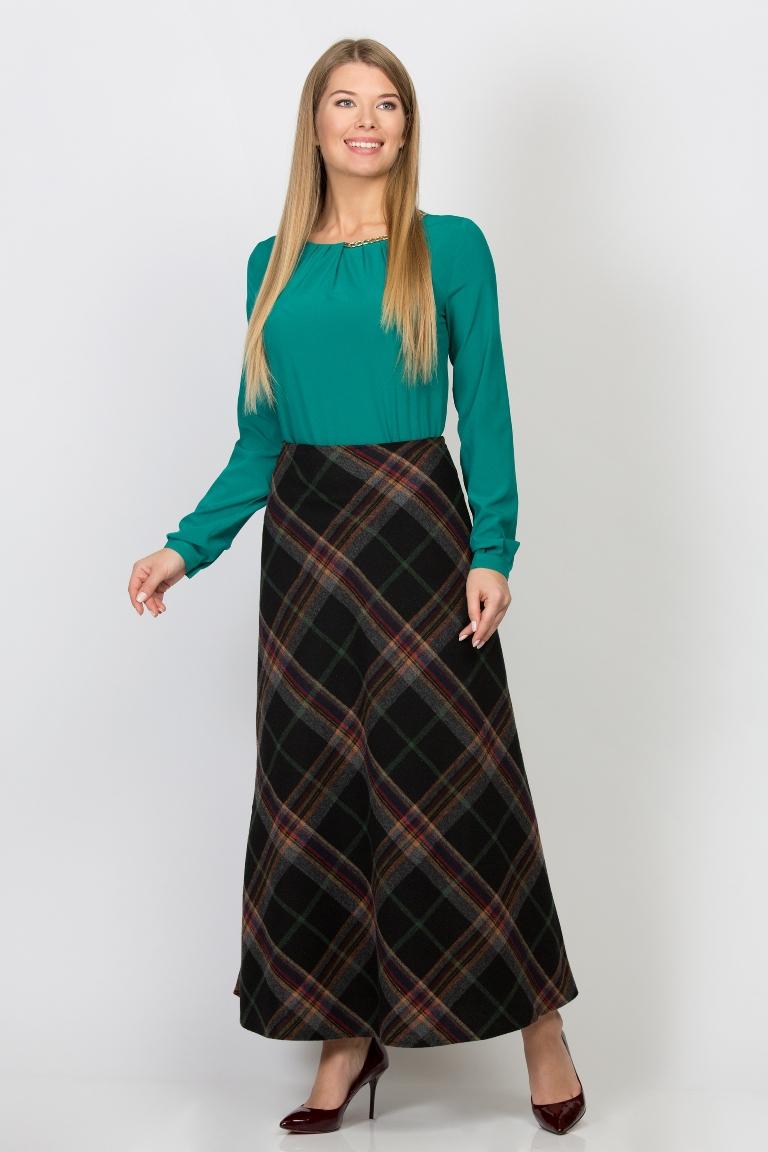 Шерстяная юбка с доставкой