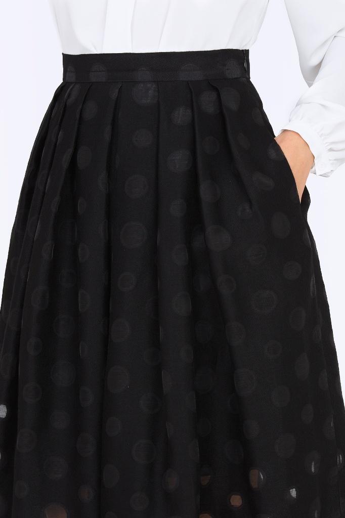 Юбка черного цвета с доставкой