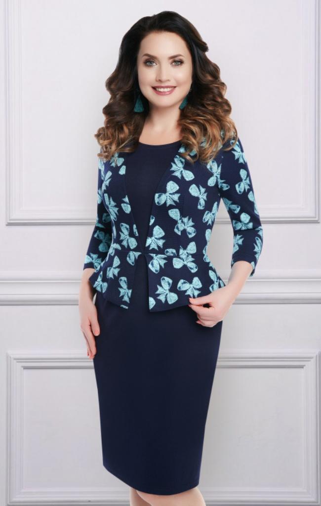 1fd52aecac6 Платье темно-синее с принтом купить недорого в интернет-магазине с ...