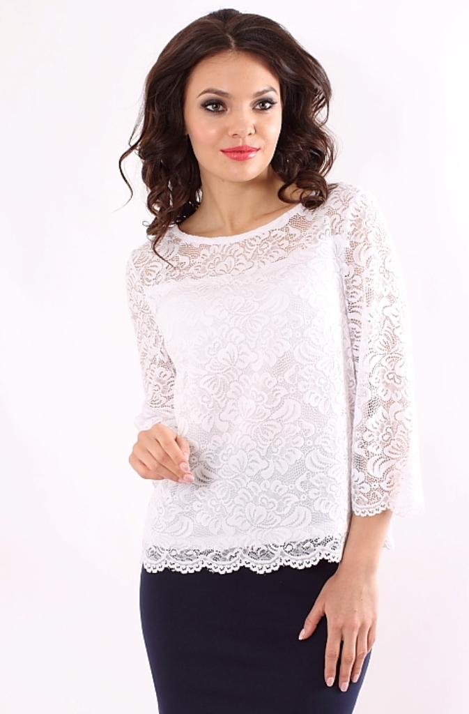 fd2a9f6c4e8 Блузка белого цвета купить недорого в интернет-магазине с бесплатной ...