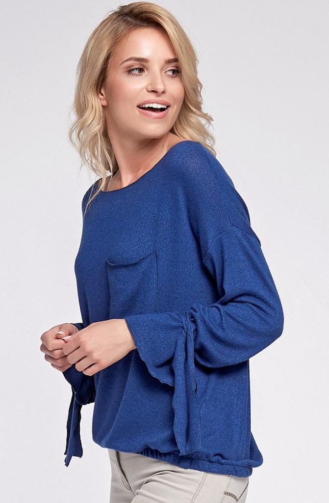 a7ad9b9dcce Блузка голубого цвета производства Польша купить в интернет-магазине