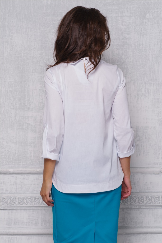 Блузки Белого Цвета Купить