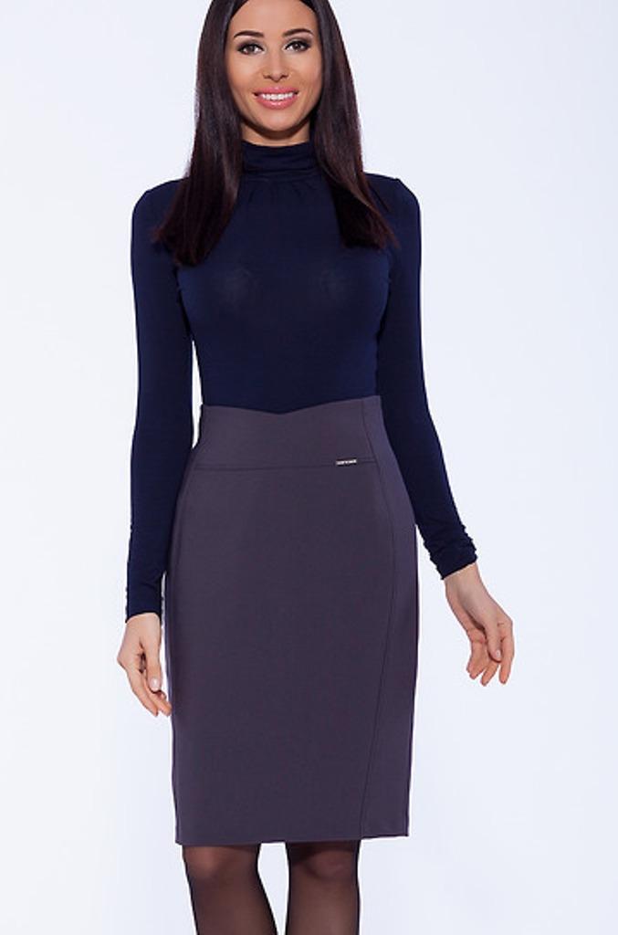 b56f2959632 Юбка серого цвета купить с бесплатной доставкой в интернет-магазине ...