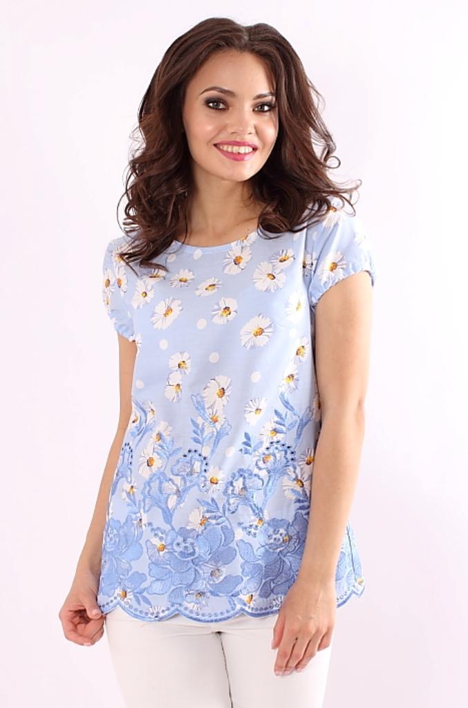 Блузка С Принтом Купить