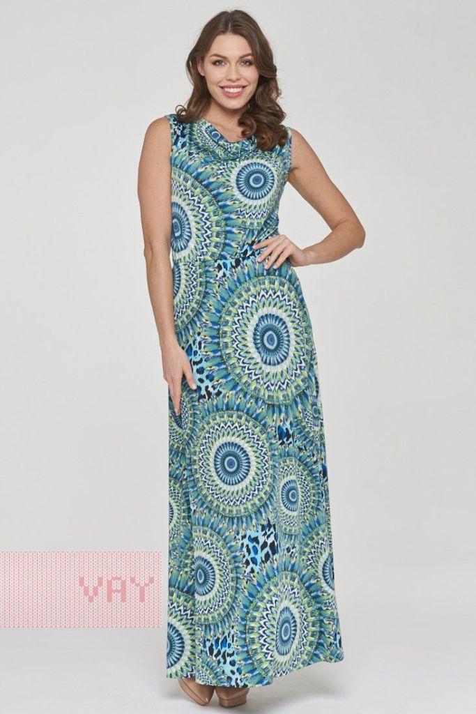 1c2c2f9b97d Платье макси летнее голубое купить в интернет-магазине с доставкой