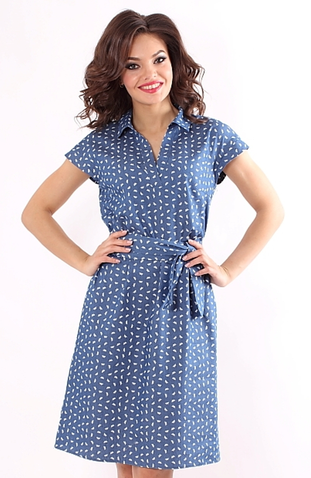 Платье синего цвета с доставкой