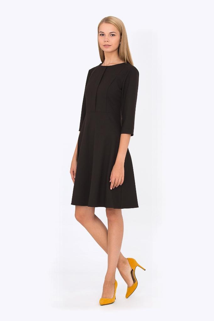 7a3b4eda0de Платье офисное черного цвета купить недорого в интернет-магазине с ...