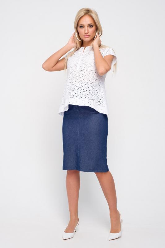 3a01d0d341d Замечательная юбка-карандаш из джинсы. Модель прилегающего силуэта
