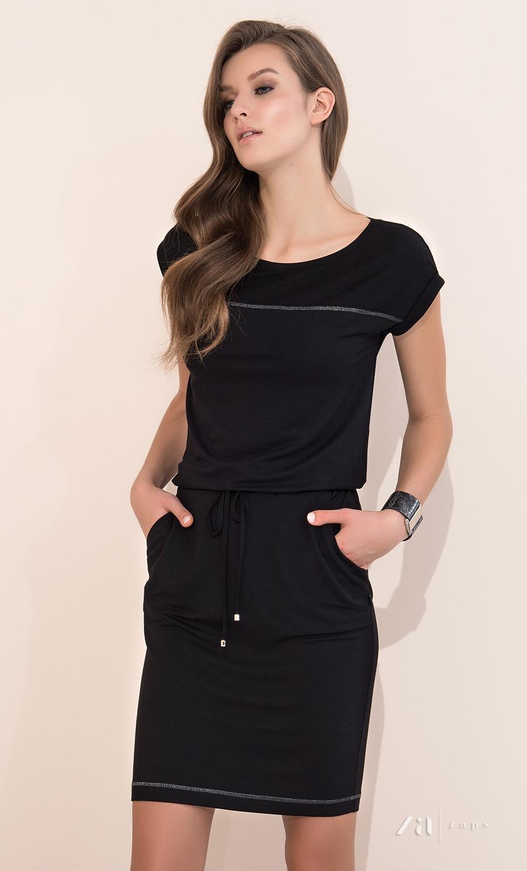 Черные платья с цветами доставка