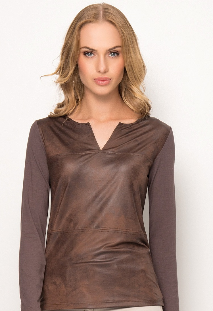 Блузка Шоколадного Цвета В Самаре