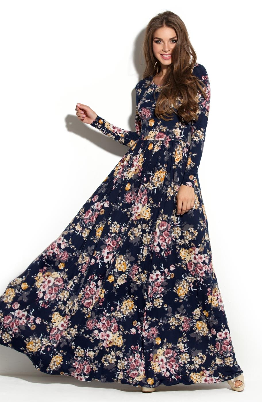 Платья с цветочным принтом доставка