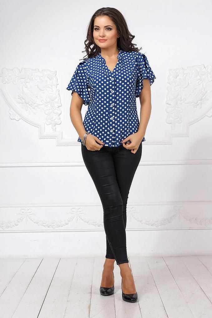 Блузка синего цвета доставка
