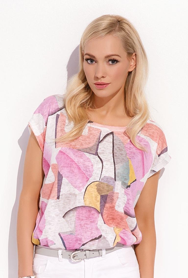 Блузка свободного кроя с доставкой